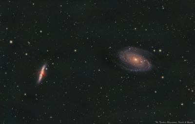 М82 & M81 - астрофотография