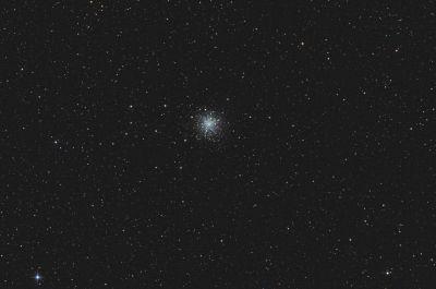 Globular cluster M12 - астрофотография