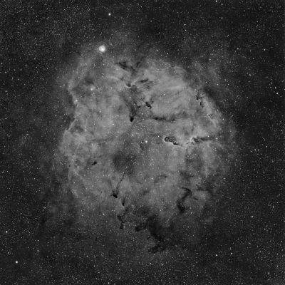 "IC 1396 ""Мю Цефея"" - астрофотография"