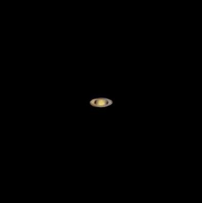 Сатурн - астрофотография