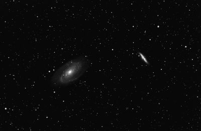 M81 и M82 - астрофотография
