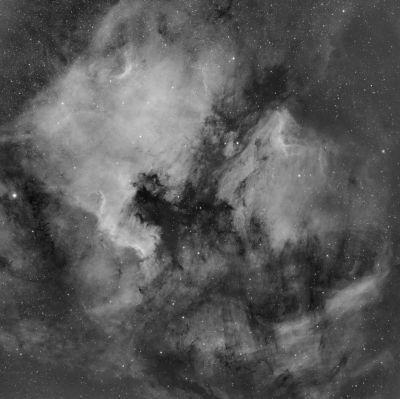 """Туманности """"Северная Америка"""" и """"Пеликан"""". - астрофотография"""