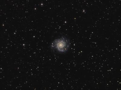 M74 galaxy LRGB - астрофотография