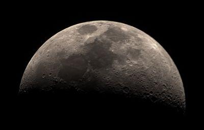 Луна (13.03.2019) - астрофотография