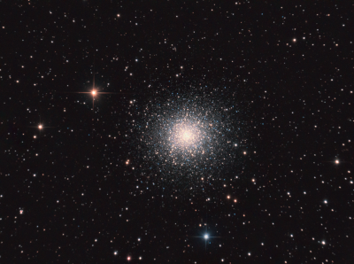 M13 - Great Globular Cluster in Hercules - астрофотография