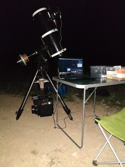 Мой астросетап в работе - астрофотография