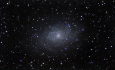 M33 Triangle galaxy - астрофотография