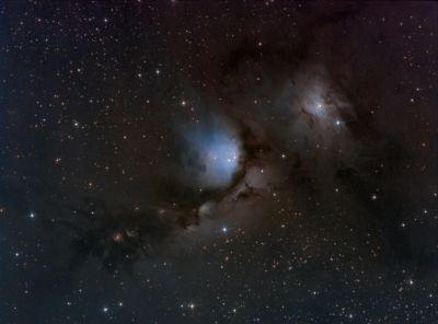M78 - астрофотография
