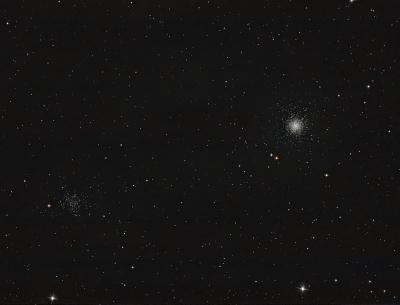Скопления М53 и NGC5053 - астрофотография