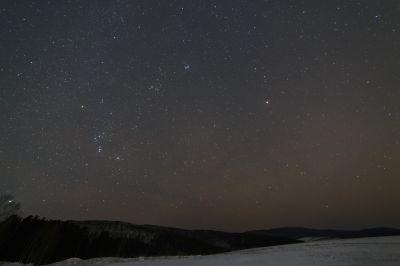 Orion constellation, Pleyades, Mars etc. - астрофотография