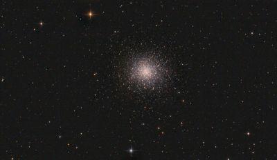 M13 - Большое Скопление Геркулеса - астрофотография