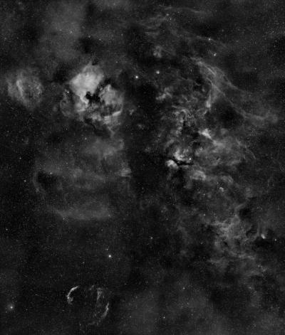 Ha регион в Лебеде.  - астрофотография