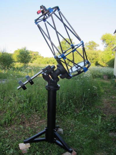 365мм F/3.5 астрограф, пробная сборка. - астрофотография