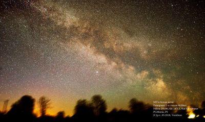 МП в белые ночи - астрофотография