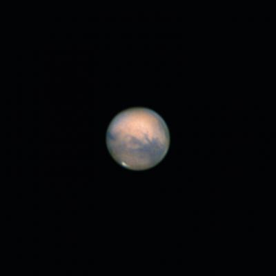 Mars 20.10.2020 (v2) - астрофотография