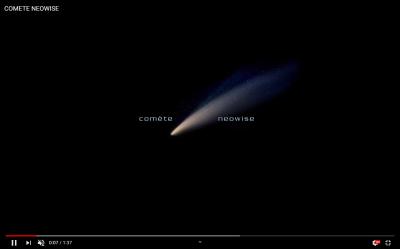 neowise, short movie - астрофотография