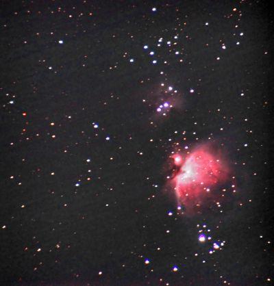 M42 - Туманность Ориона - астрофотография