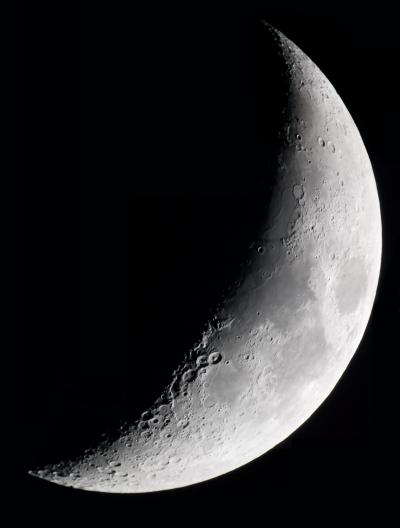 Луна 10.04.19г  - астрофотография
