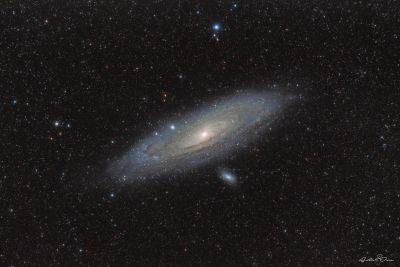 M31 Andromeda galaxy - астрофотография