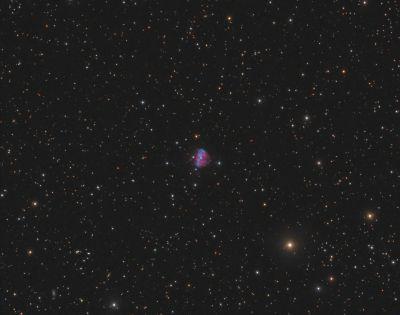 Kohoutek 1-16 (K 1-16, PK 94 + 27.1, PN G094.0 + 27.4) - астрофотография