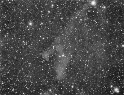 Пылевая туманность LBN 462 - астрофотография