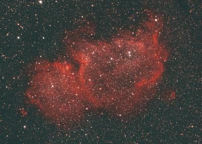 IC1848 Soul Nebula - астрофотография