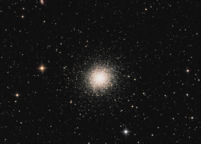 M 13 Globular Cluster LRGB - астрофотография
