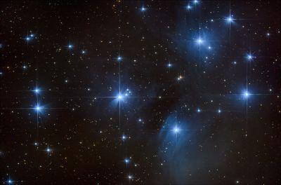 M45. Плеяды. - астрофотография