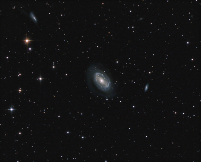 NGC 4727 in Coma Berenices LRGB - астрофотография