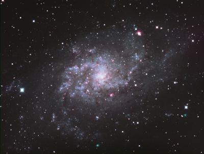 M33 LRGB (1500 mm) Draft - астрофотография