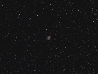 M 1 Crab planetary nebula HORGB - астрофотография