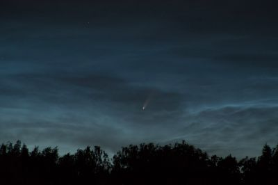 C/2020 F3 NEOWISE 10.07.2020 00:43 МСК - астрофотография