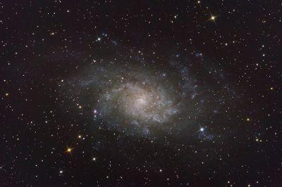 M 33 Галактика Треугольника - астрофотография