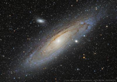 Галактика Андромеды (M31). - астрофотография