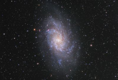 Галактика М33  - астрофотография