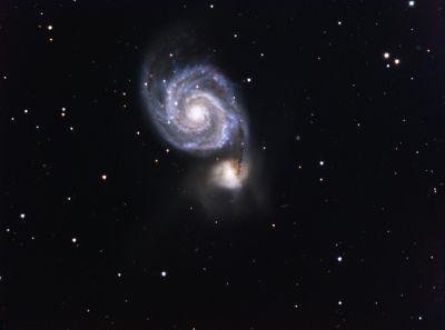 M51 - астрофотография