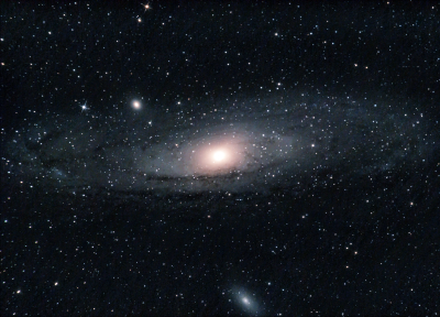 Andromeda Galaxy M 31 - астрофотография