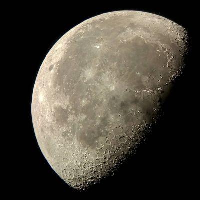 Луна. - астрофотография