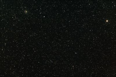 M71 и δ Стрелы - астрофотография