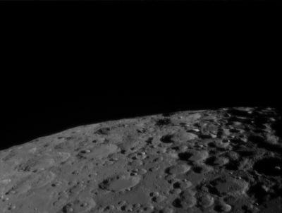 Летим над Луной - астрофотография