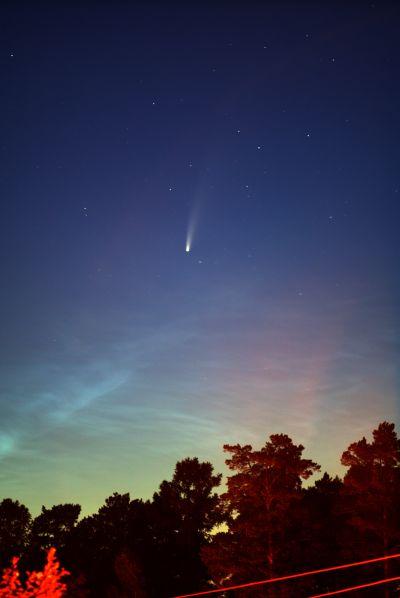 Neowise - астрофотография