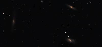 M65 Group - астрофотография