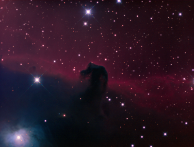 "IC434 The ""Horse Head"" Nebula RGB - астрофотография"