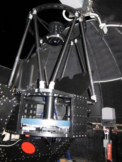 Ричи-Кретьен 610мм на вилочной монтировке - астрофотография