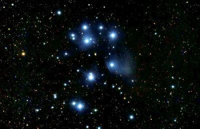 M 45 (Плеяды) 5-12-2019 - астрофотография