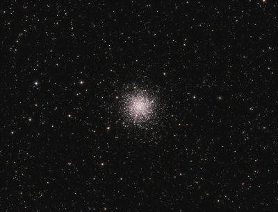 M 12 LRGB - астрофотография