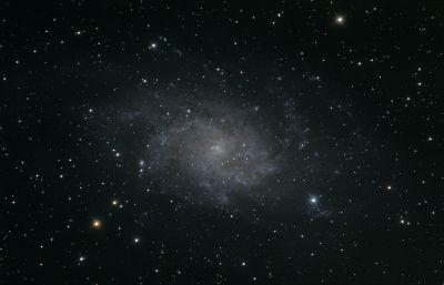 Галактика в Тругольнике (М33) - астрофотография