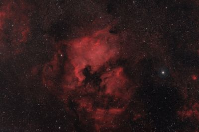 CYGNUS NEBULA COMPLEX IN HA AND OIII - астрофотография