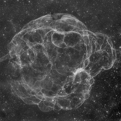Sh2-240, Симеиз 147 - астрофотография