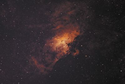 M16 - The Eagle Nebula in Ha/OIII-Bicolour - астрофотография